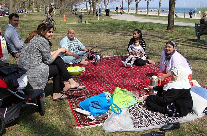 family-on-rug