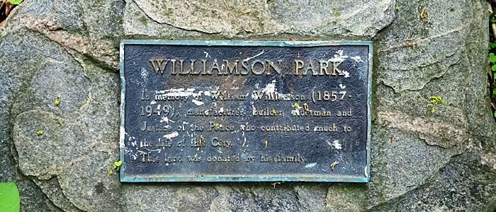 williamson-plaque
